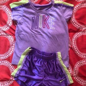 Toddler girl Nike set